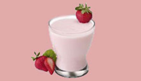 Weight loss shake stawberry